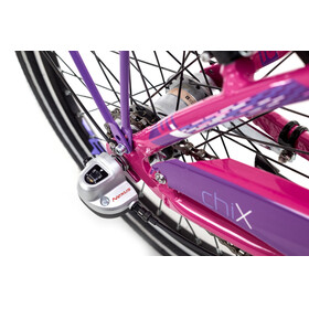 s'cool chiX 20 3-S Juniorcykel Barn steel pink